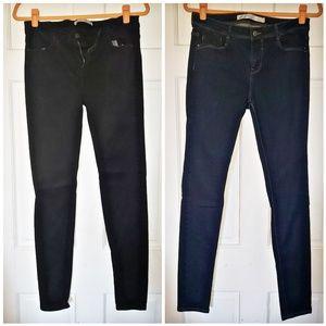 2 pair of Zara jeans